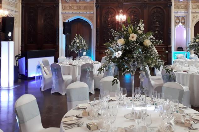 Iggy Wedding DJ gallery - canford school wedding steven and hayley mood lighting