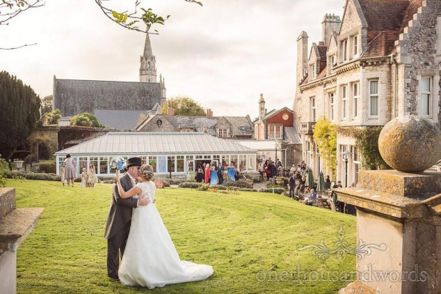Iggy Wedding DJ gallery - purbeck house hotel wedding fiona and adrian